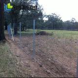 電流を通されたフィールド塀ワイヤー、ヤギの塀、牛塀