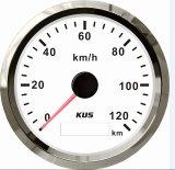 Truck Car Motorcycleのための85mm GPS Speedometer Velometer 0-120km/H 12V 24V