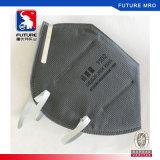 Masque de poussière plié par carbone actif antipoussière de soupape d'exhalation remplaçable