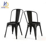 Промышленные ресторан стулья UK Домашняя металлические модных кафе бистро древесины со стороны сиденья установлен бронзовый черного цвета мебелью Австралии Tolix Председателя