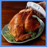 Termómetro de carne de alimentar o Termômetro Digital para a cozinha para cozinhar leite churrascos Termômetro do Líquido de cor branca