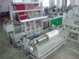 Side Sealing Plastic Garment Bag Making Machinery com pasta