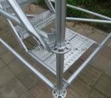 O pino de trava de aço galvanizado andaimes para a construção do prédio, a China Factory