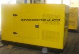 type silencieux générateur d'engine BRITANNIQUE principale de pouvoir de 30kVA 24kw de diesel