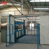 Vector de elevación vertical hidráulico del almacén del cargo del carril de guía de la venta caliente con de calidad superior