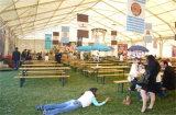 Barraca ao ar livre gigante durável do telhado do PVC e do banquete de casamento das paredes para a venda