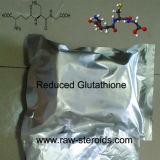 Essai de 99 % de la poudre blanche glutathion réduit dans l'emballage sous vide