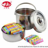 Kauwgom van de Doos van de Lunch van de Laag van de Container van het roestvrij staal de Dubbele