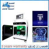Laser santo Engraving Machine Hsgp-4kb del laser 3D Crystal