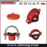 FM/UL/Ce aprobada ranurado de hierro dúctil y adaptador de acoplamiento