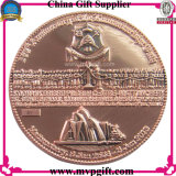 Монетка металла для подарка монетки возможности 3D (M-CC15)