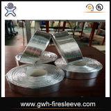 O calor revestido da fibra de vidro da folha de alumínio reflete o tipo luva
