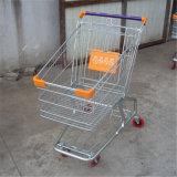 월마트는 싼 시장 쇼핑 트롤리 손수레를 사용했다