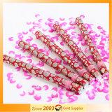 Partido Handheld Popper del confeti del pétalo de Rose de la boda
