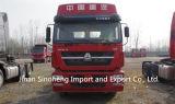 Sinotruk HOWO 6X4 420PSエンジン力の頑丈なトラクターのトラック