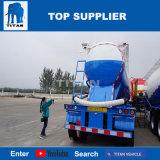 Titan 55cbm vehículo cisterna de cemento a granel tráiler con 3 ejes para la venta