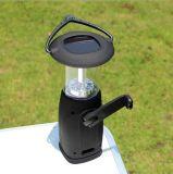 キャンプLEDの軽いABS明るく再充電可能なランタン太陽屋外ライト