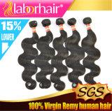 Extensão 100% peruana do cabelo humano do Virgin da onda do corpo Lbh 178