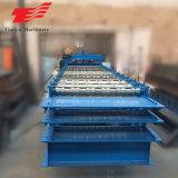 Panneau de toiture en métal automatique machine à profiler à trois couches