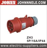 3p 16A IP44 Plug for Industrial with Ce Certification