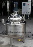 Edelstahl-elektrische Heizungs-mischendes Becken mit Spitzeneintrag-Mischer