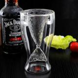 De forma creativa de la copa de vidrio cristal cristal de vino de coctel martini de cristal de Whiskey.