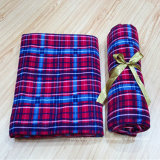 高いWarmth RetentionおよびComfortable Travel Blanket Plain Outdoor Coral Fleece Blanket