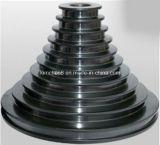 Poleiras de passo revestidas de óxido de cromo / cabos de desenho de arame (polias de torre de revestimento de cerâmica)