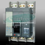 3 Pole 4 Pole 80A-1600A Telemecanique Electrical Ezd Ns Nsx MCCB MERLIN Gerin MCCB Moulded Fall Circuit Breaker