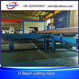 Máquina de estaca lidando do feixe do plasma H da flama da fabricação da construção de aço
