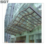 4.38-38.38mm Clear Tempered, Reflective Laminated Glass