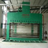 Porte de forces de défense principale feuilletant la machine chaude hydraulique de presse