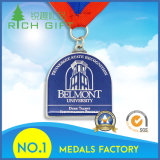 De Medaille van het Metaal van de Sport van de Herinnering van de douane met Tien Yesrs van de Ervaring van de Productie