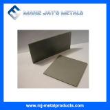 Plaque au sol de carbure cimenté de tungstène