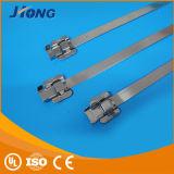De naakte Type Bespoten Band van de Kabel van het Roestvrij staal Releaseable