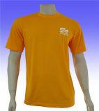 T-shirt fait sur commande simple promotionnel en gros