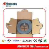 CE/RoHS/ ETL sólido Cable LAN 0,57mm/0.55mm UTP CAT6