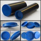 Голубые протекторы трубы воды и газа PE и крышки (YZF-C357)