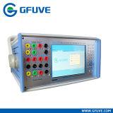 Sistema de teste trifásico do microcomputador da proteção do relé Test-330