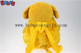 Saco de promoção com novo design engraçado cão recheadas de pelúcia mochila para crianças