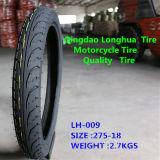 Longhua Reifen-Verkaufs-Qualitäts-Naturkautschuk-Motorrad-Reifen (2.75-18)