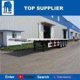 대륙간 탄도탄 차량 - 40 FT Jost 지원 다리를 가진 평상형 트레일러 트럭 트레일러