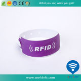 Festivalのための13.56 MHz Passive Disposable RFID Paper Wristband