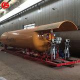 Q345rスキッドStaitonを補充するガス40000リットルのLPGの