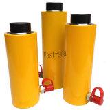 Separar grandes tonelagens do cilindro hidráulico de ação simples para elevar