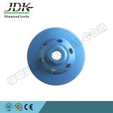 Однорядная стальная база Turbo Segment Diamond Cup Wheel
