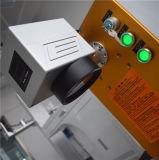 Portable de la máquina de la marca del laser de la fibra 10W para el acero inoxidable