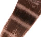 素晴らしい品質の人間の毛髪の拡張はまっすぐにインドの毛を編む
