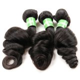 Tessuto brasiliano dei capelli dei capelli allentati dell'onda