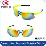 Lâmpada UV400 Eye protegidos do desporto profissional Racing executando os óculos de sol